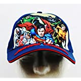 Baseball Cap - DC Comcis - Justice League Blue (Youth/Kids) New JL777