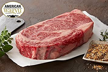 chicago steak wagyu kobe style ribeye 4 12oz amazon com grocery