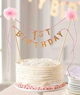 Mud Pie First Birthday Cake Topper