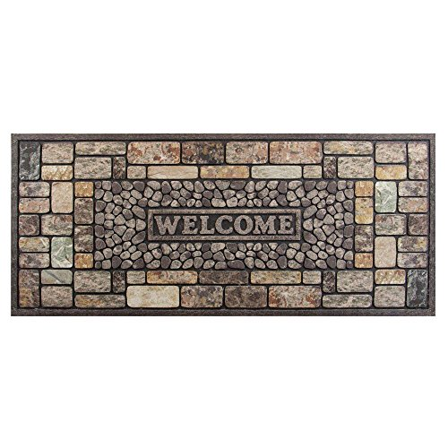 Pebbles 20 in. x 47 in. Door Mat