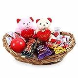 Cadbury Chocolate Basket With Teddy of Love