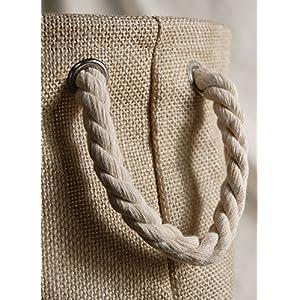 Burlap Bag 11x11 Rope Handles - Excellent Home Decor - Indoor & Outdoor 82