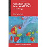 Canadian Poetry from World War I: An Anthology