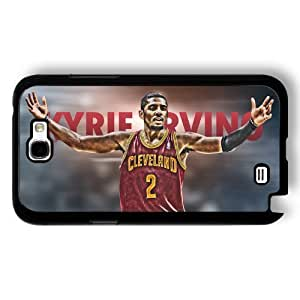 Onelee(TM) - Customized Black Hard Plastic Samsung Galaxy Note 2 Case, NBA Superstar Cleveland Cavaliers Kyrie Irving Samsung Galaxy Note 2 Case