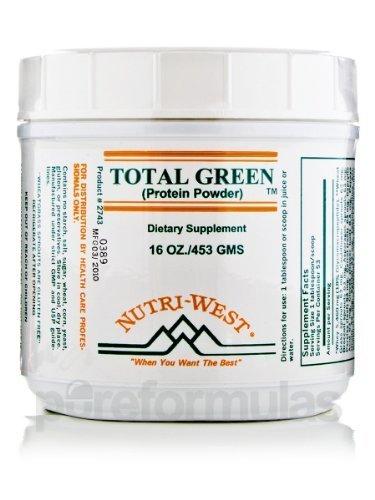 Nutri-Запад - Всего Green протеин порошок - 16 унций