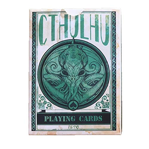 Sum-elyn Playing Cards - Poker Cthulhu Poker Collection Rare Limited Poker Cards Gift for Men or Women, Great for Magic,Card Games and Party(1 pc)