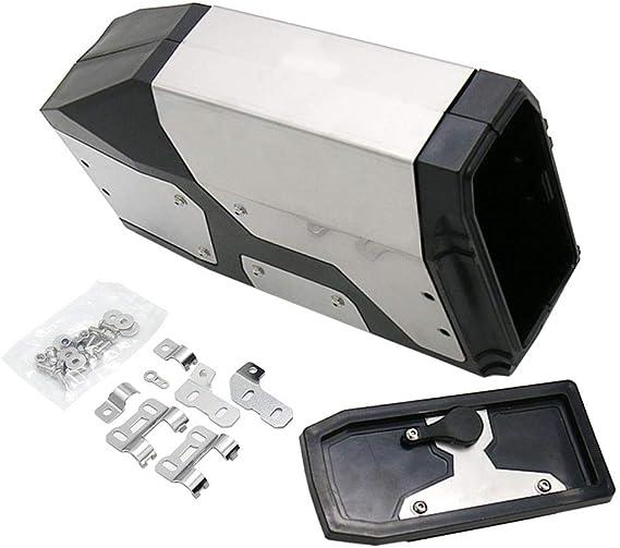 YakeHome F/ür R1200GS ADV Adventure Dekorative Aluminiumbox f/ür BMW R1200GS LC Wasserk/ühler 2013-on Toolbox Passend