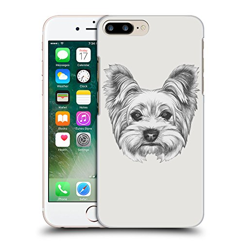 GoGoMobile Coque de Protection TPU Silicone Case pour // Q05120631 Chien dessin Platine // Apple iPhone 7 PLUS