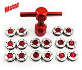HISTAR 2Pcs Golf Custom red Weights + Red Wrench for Titleist Scotty Cameron Putters