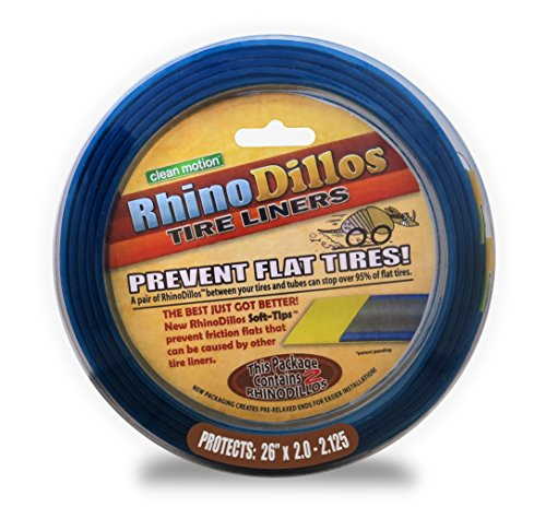 Slime Tire Liner - RhinoDillos Tube Protector (Sold in Pairs)