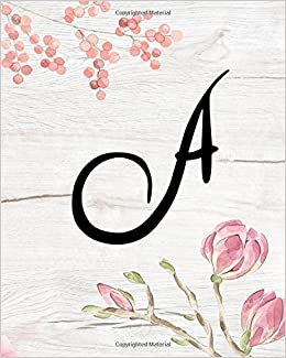 A 100 Pages Line Wood Wallpaper Flora Pink Art Letter Notebook