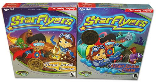 StarFlyers Adventures 1 and 2: Royal Jewel Rescue and Alien Space ()