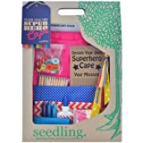 Seedling Design Your Own Pink Superhero Cape Activity Kit