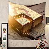 Madeleine Ellis Custom tapestry islamic holy book quran