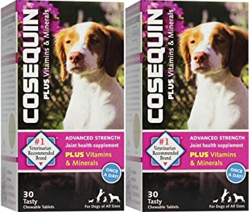 Cosequin Advanced Strength with vitamins minerals 30 count x 2 PK