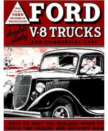 Review 1935 FORD V8 TRUCK
