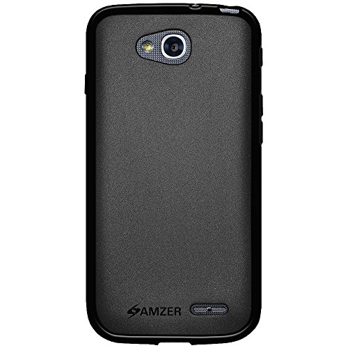 Amzer Pudding Soft Gel TPU Skin Fit Case for LG OPTIMUS L90 D415 - Retail Packaging - - Lg L90 Case A For
