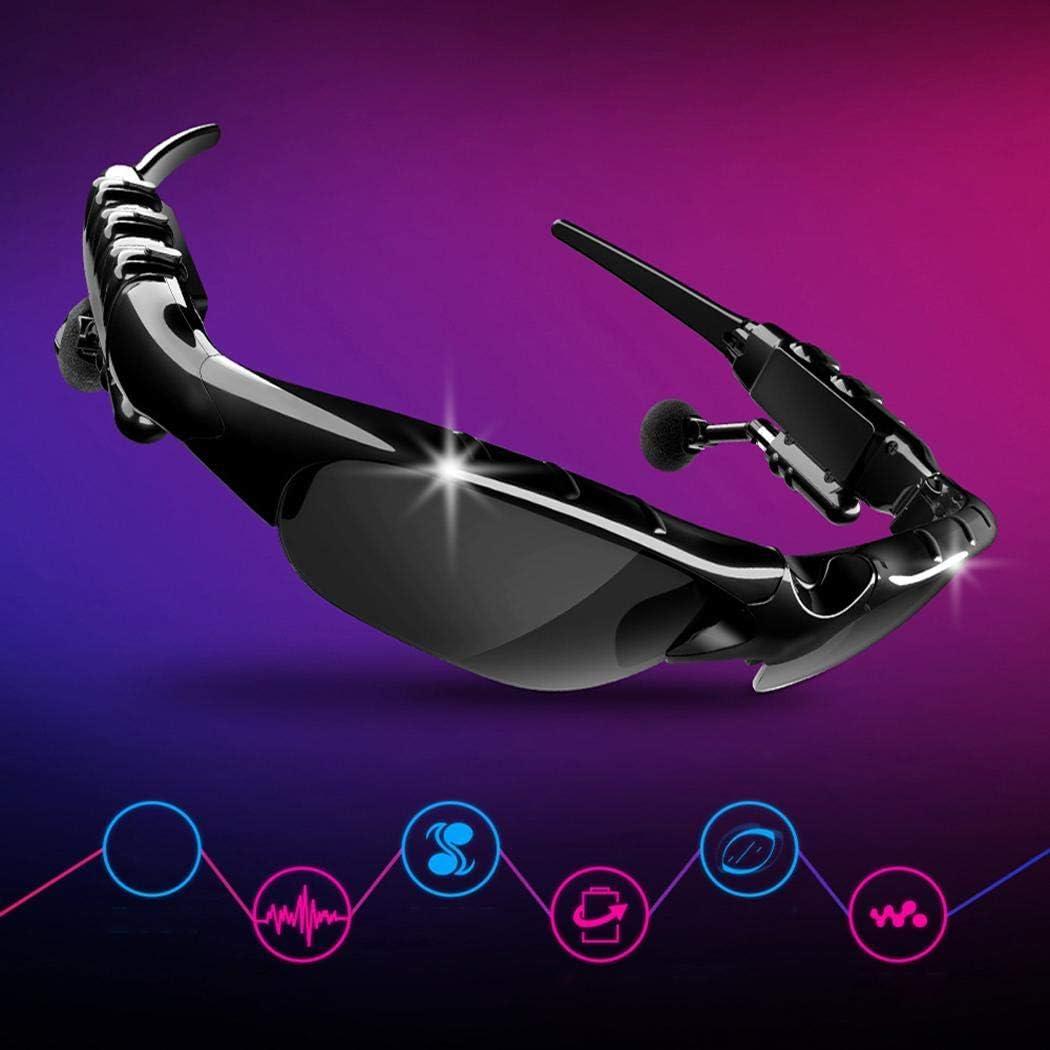 Benlet Fashion Wireless Bluetooth Stereo in-Ear Earphone Sunglasses Bluetooth Headset Headphones