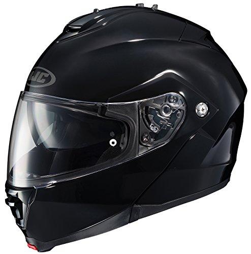 HJC IS-MAX2 Solid Modular/Flip Up Helmet (Black, Large)