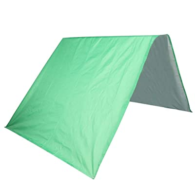 Roof Canopy, Swing Set Replacement Tarp 52.0x89.0in Outdoor Swingset Shade Kids Playground Roof Canopy Waterproof Cover Snow Proof Tent (Green) : Garden & Outdoor