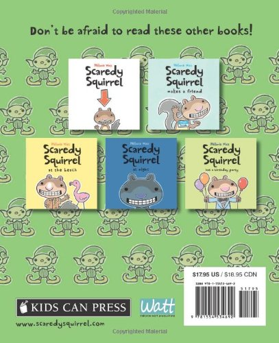 Scaredy Squirrel Prepares for Christmas: A Safety Guide for Scaredies