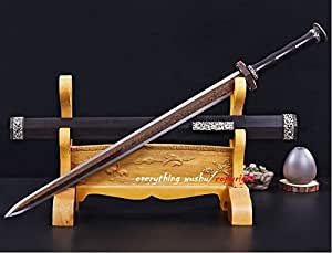 Traditional Chinese Han Jian Wushu Jian Master Collection