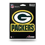 """Rico NFL Packers Medium Die Cut Decal, 9"""" x 5"""" x 0.2"""", Team Logo"""