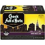 k cups for 2 0 keurig - Chock Full o'Nuts Coffee, Upper West Dark Roast, Single Serve Coffee Cups, 12 Count, 3.8 oz