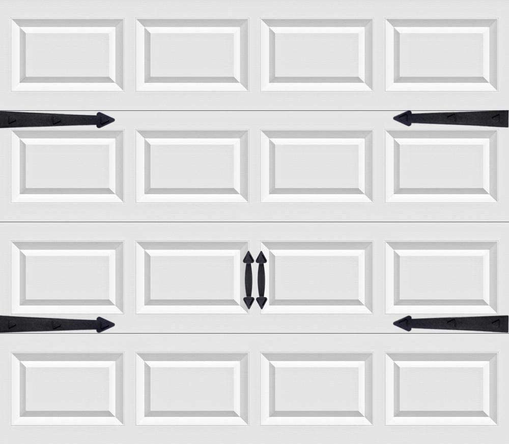 32Pack 2 Car Garage Kits Magnetic Panels Sheets Fake Faux Magnetic Windows Hardware Decorative Decor for Metal Door All Season Weather Resistantce Size 6 x 4