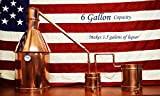 #7: 6 Gallon Copper Hobby Distillation Unit - Full Moonshine Still Set