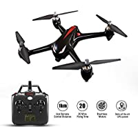 Koeoep MJX Bugs2 RC Brushless Drone with 1000 Meters Control Distance GPS 1080P Camera Live Video 20 Mins Flying Time 2.4GHz 4 Chanel Quadcopter