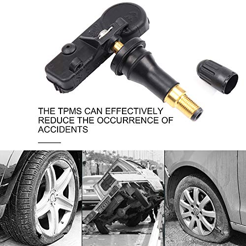 Tire Pressure Monitoring Sensor Fits for 2005-2016 Chrysler Pacifica Town and Country 2005-2016 Dodge Caravan Challenge Ram 2012-2016 Fiat 500 2005-2017 Jeep Liberty Wrangler 2011-2013 Ram Dakota (Chrysler Town And Country 2012 Tire Size)
