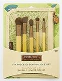 ECOTOOLS Makeup Brush -6 Piece Essential Eye Set ET-1227 -Professional Eco Brushes Set - free makeup samples - Travel brushes set