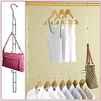 Amazon Com Lynk Double Hang Closet Rod Organizer