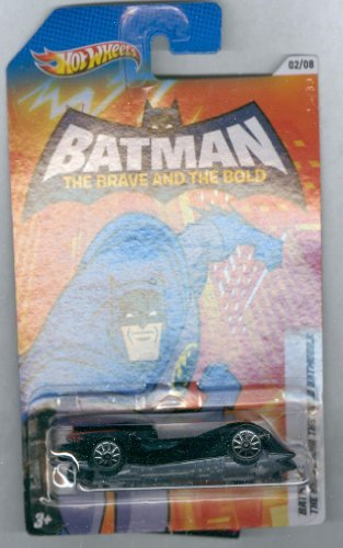 Hot Wheels 2012 Series #2 of 8 Batman The Brave and the Bold Batmobile 1:64 scale