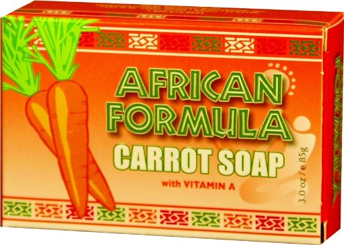 African Formula Carrot Soap 3 oz.
