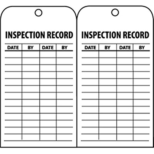 NMC Inspection Record Tags (5 Pack)