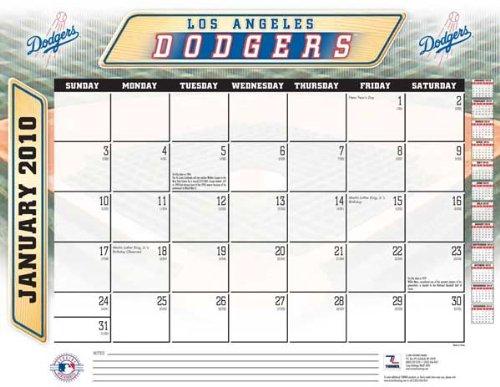 Dodgers Desk Calendars Los Angeles Dodgers Desk Calendar Dodgers