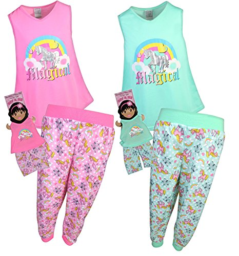 BFF   ME Girls 4 Piece Jogger Pajama Set with Matching Doll Pajamas - Buy  Online in Oman.  1a53df454