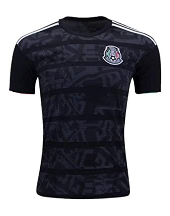67f404edeccc1 Lujfhd New 2019 Men's Home Mexico Soccer Jersey Black