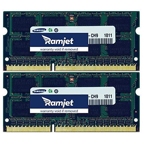 Memoria RAM 16GB Ramjet DDR3-1600 PC3-12800 DDR3 1600Mhz SO-DIMM Kit para Apple iMac (2X 8GB)
