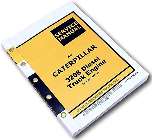 Cat Caterpillar 3208 Diesel Truck Engine Service Manual Serial No. 40S1-Up