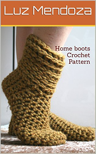 Home Boots Crochet Pattern Kindle Edition By Luz Mendoza Crafts
