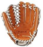 Louisville Slugger 12.75-Inch TPX HD9 Hybrid Defense Ball Glove - Orange/Gray (Right Hand Throw)