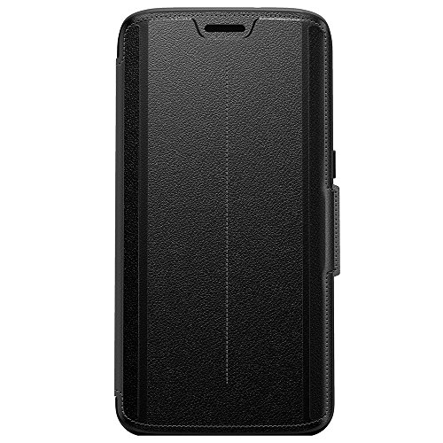 OtterBox STRADA SERIES Leather Wallet Case for Samsung Galaxy S7 Edge - PHANTOM (BLACK/BLACK LEATHER) by OtterBox (Image #2)