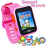 Marmoon Game Smart Watch for Kids 3-12 Year Kids Smartwatch with Color Screen Camera Electronics Pet Game Pedometer Kids Digital Wrist Watche Learning Toy Game Watch for Boys Girls Children Day Gift