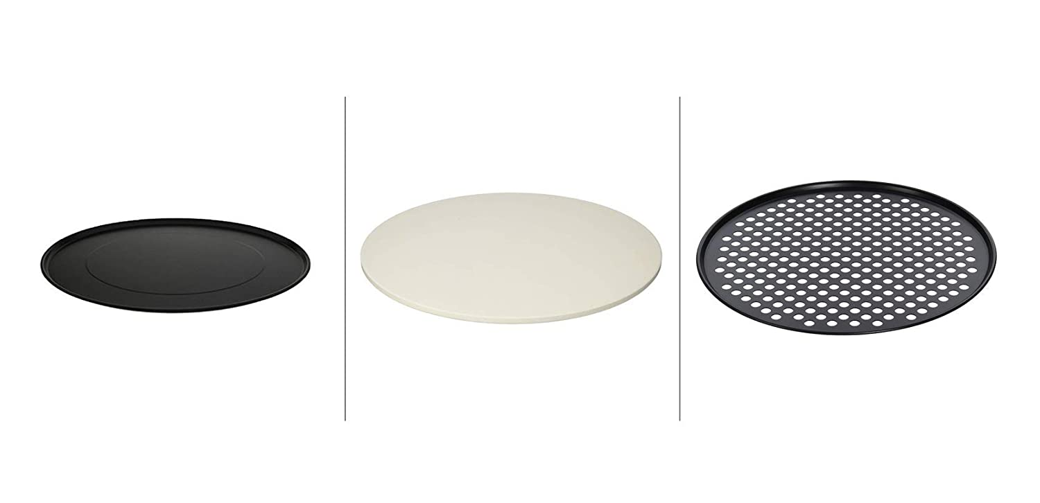 Breville Special Pizza Bundle with 13-inch Pan, 13-inch Stone and 13-inch Crisper