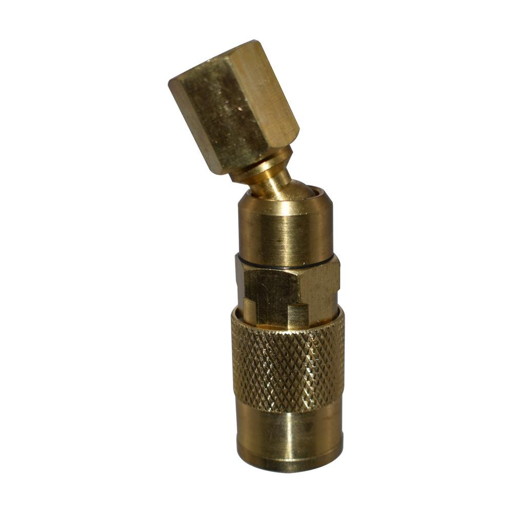 1//4 in Industrial Swivel Coupler Rotates
