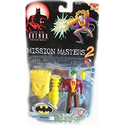 BATMAN The New Adventures Mission Masters 2 Hydro Assault Joker Action Figure: Toys & Games [5Bkhe1006659]