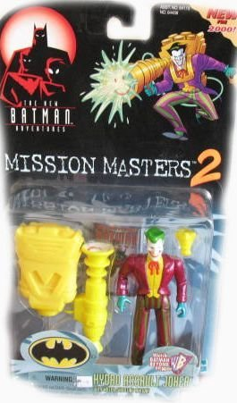 The New Batman Adventures Mission Masters 2 Hydro Assault Joker Action Figure